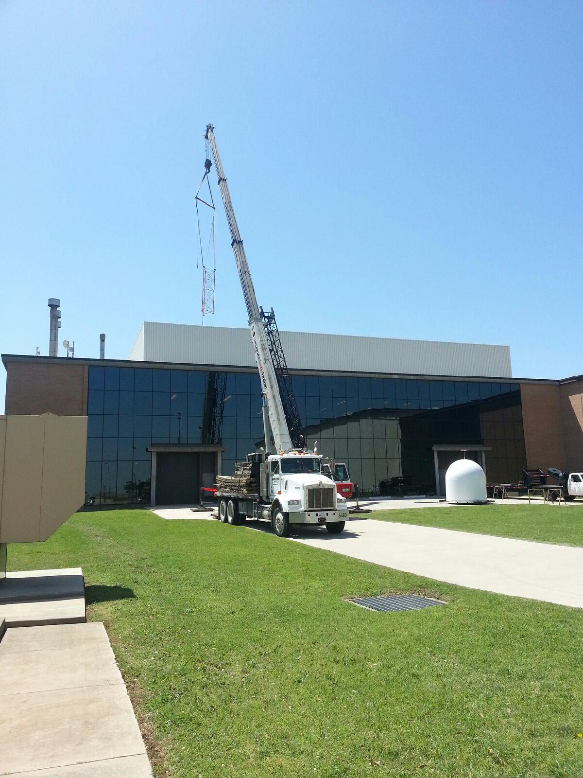 Radar Installation At University Of North Texas